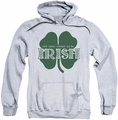 Ireland pull-over hoodie Lucky To Be Irish adult athletic heather