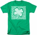Ireland t-shirt Celtic Clover mens kelly green