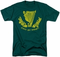 Ireland t-shirt Erin Go Bragh mens hunter green