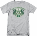 Ireland t-shirt Green Beer mens athletic heather