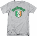 Ireland t-shirt Ireland With Soccer Flag mens athletic heather