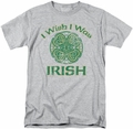Ireland t-shirt Irish Wish mens athletic heather