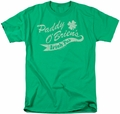 Ireland t-shirt Paddy O'Briens Irish Pub mens kelly green