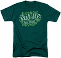 Ireland t-shirt Rub Me mens hunter green