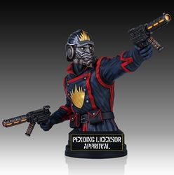Star-Lord mini bust Guardians of the Galaxy