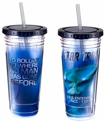 Star Trek 24 oz. Acrylic Travel Cup