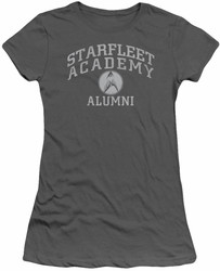 Star Trek juniors t-shirt Alumni charcoal