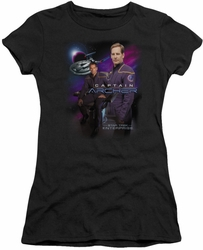 Star Trek juniors t-shirt Captain Archer black