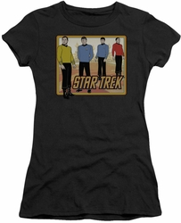 Star Trek juniors t-shirt Classic black