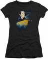 Star Trek juniors t-shirt Data 25th black