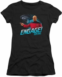 Star Trek juniors t-shirt Engage black