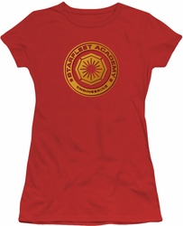 Star Trek juniors t-shirt Engineering red