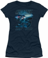 Star Trek juniors t-shirt Enterprise 25 navy