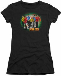 Star Trek juniors t-shirt Enterprises Finest black