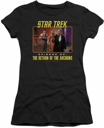 Star Trek juniors t-shirt Episode 22 black