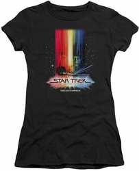 Star Trek juniors t-shirt Motion Picture Poster black