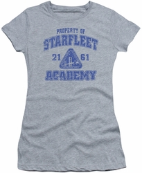 Star Trek juniors t-shirt Old School heather