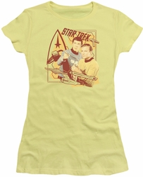 Star Trek juniors t-shirt Shoot That Thing banana