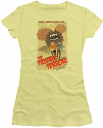 Star Trek juniors t-shirt Tribble Threat banana