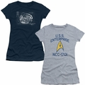 Star Trek Juniors t-shirts