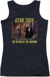 Star Trek juniors tank top Episode 22 black