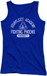 Star Trek juniors tank top Varsity royal