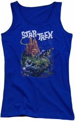 Star Trek juniors tank top Vulcan Battle royal