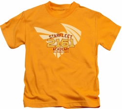 Star Trek kids t-shirt 2161 gold