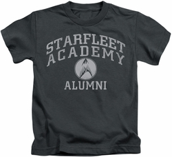 Star Trek kids t-shirt Alumni charcoal