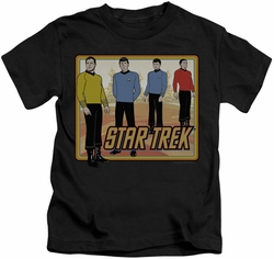 Star Trek kids t-shirt Classic black