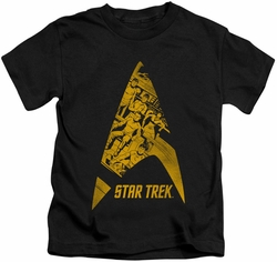 Star Trek kids t-shirt Delta Crew black