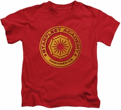 Star Trek kids t-shirt Engineering red