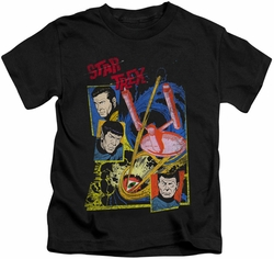 Star Trek kids t-shirt Eye Of The Storm black