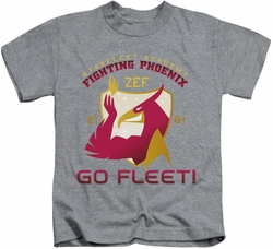 Star Trek kids t-shirt Fighting Phoenix heather