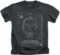 Star Trek kids t-shirt Join The Search charcoal