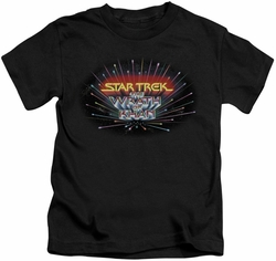 Star Trek kids t-shirt Khan Logo black