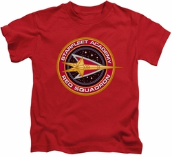 Star Trek kids t-shirt Red Squadron red