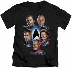 Star Trek kids t-shirt Starfleet's Finest black