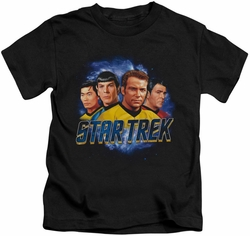 Star Trek kids t-shirt The Boys black
