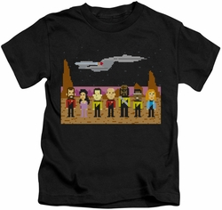 Star Trek kids t-shirt TNG Trexel Crew black