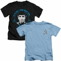Star Trek Kids t shirts
