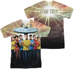 Star Trek mens full sublimation t-shirt Original Crew
