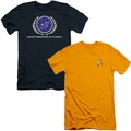 Star Trek mens slim fit t-shirts