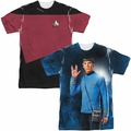 Star Trek mens sublimation t-shirts