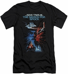 Star Trek Movie slim-fit t-shirt Search For Spock mens black