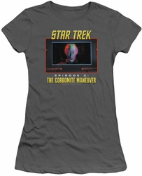 Star Trek Original Series juniors t-shirt The Corbomite Maneuver charcoal
