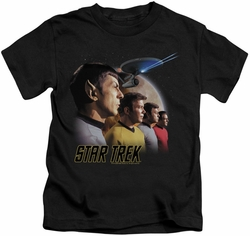 Star Trek Original Series kids t-shirt Forward To Adventure black