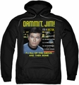 Star Trek pull-over hoodie All Of The Above adult black