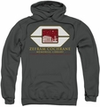 Star Trek pull-over hoodie Cochrane Library adult charcoal