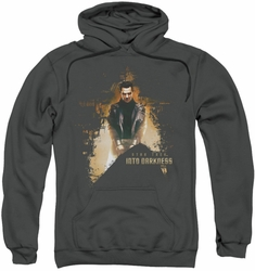 Star Trek pull-over hoodie Dark Villain adult charcoal